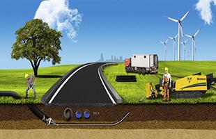 Прокладка инженерных коммуникаций (сетей) под дорогами